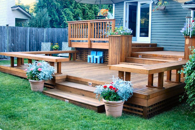 Delicieux Custom Patio Deck Builder And Design Company   Serving The Seattle  Washington Area   Decks By Lakevue